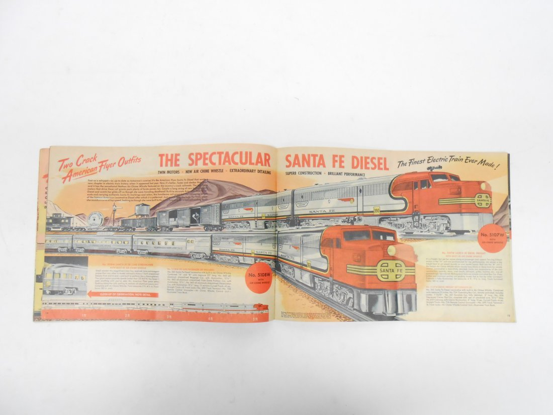 (5) GILBERT TOYS / AMERICAN FLYER TRAIN CATALOGS - 11