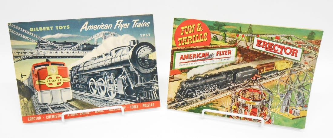 (5) GILBERT TOYS / AMERICAN FLYER TRAIN CATALOGS - 2