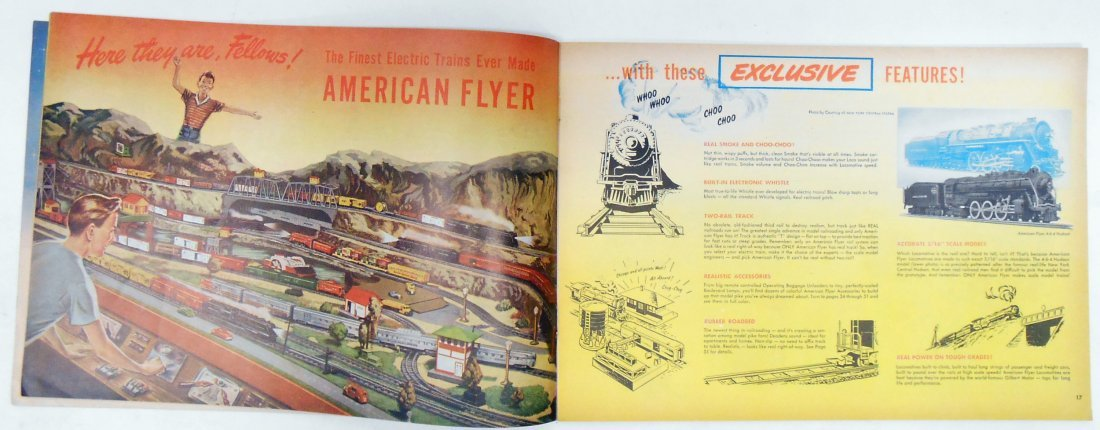 (5) GILBERT TOYS / AMERICAN FLYER TRAIN CATALOGS - 6
