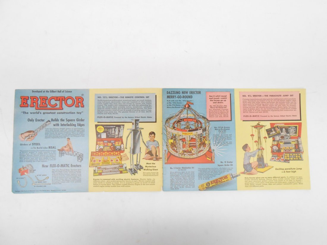 (5) GILBERT TOYS / AMERICAN FLYER TRAIN CATALOGS - 9