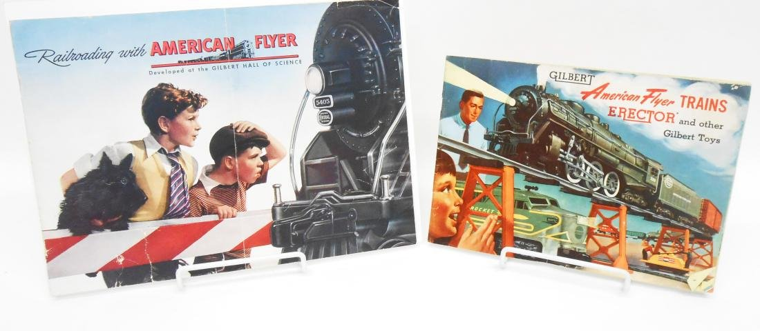 AMERICAN FLYER / GILBERT TOY CATALOGS (3)