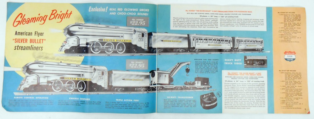 AMERICAN FLYER / GILBERT TOY CATALOGS (3) - 6