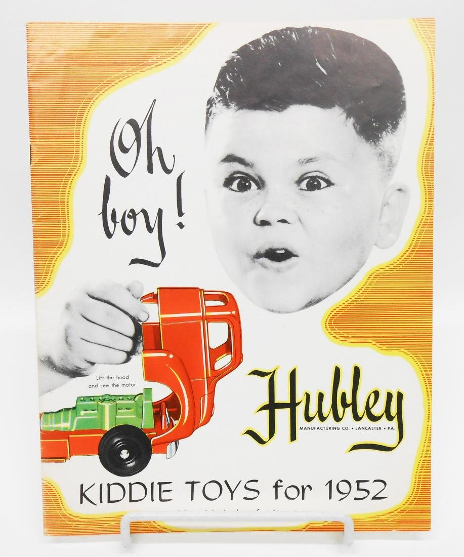 1952 HUBLEY TOY CATALOG