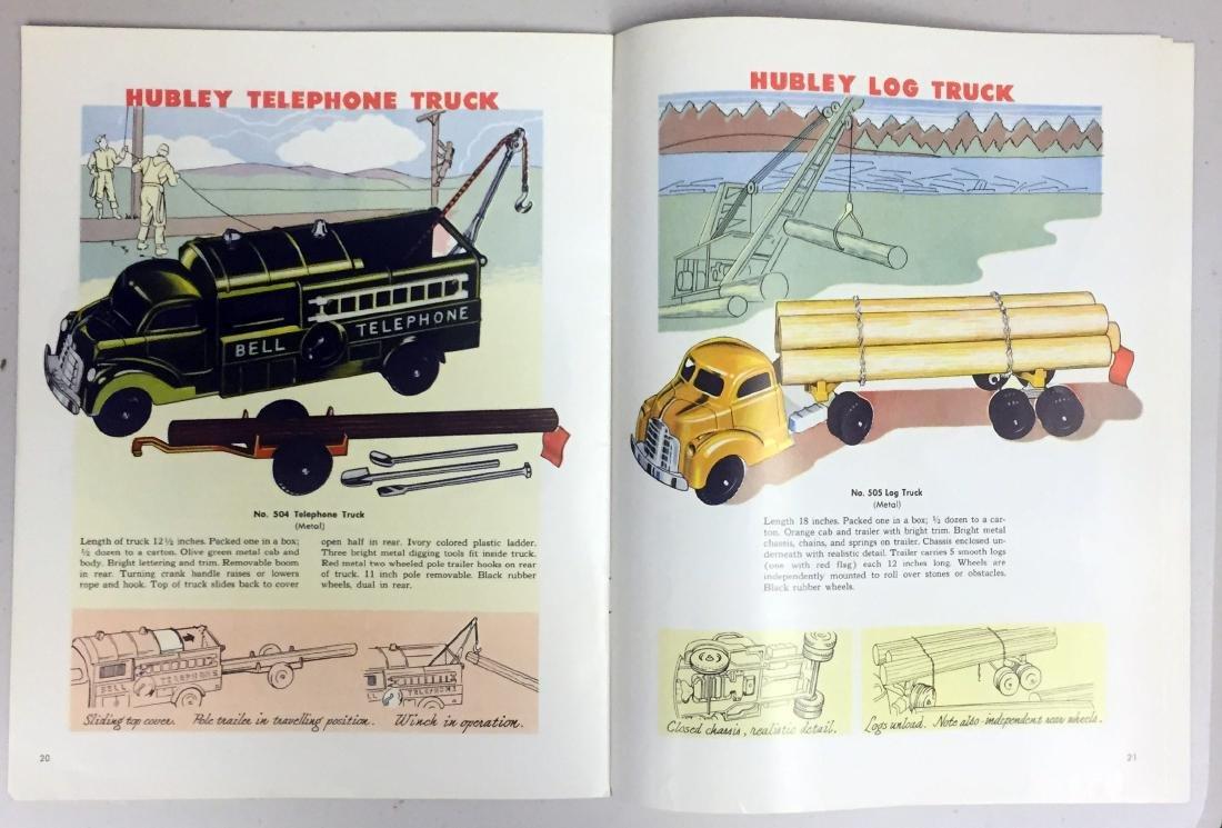 1952 HUBLEY TOY CATALOG - 3