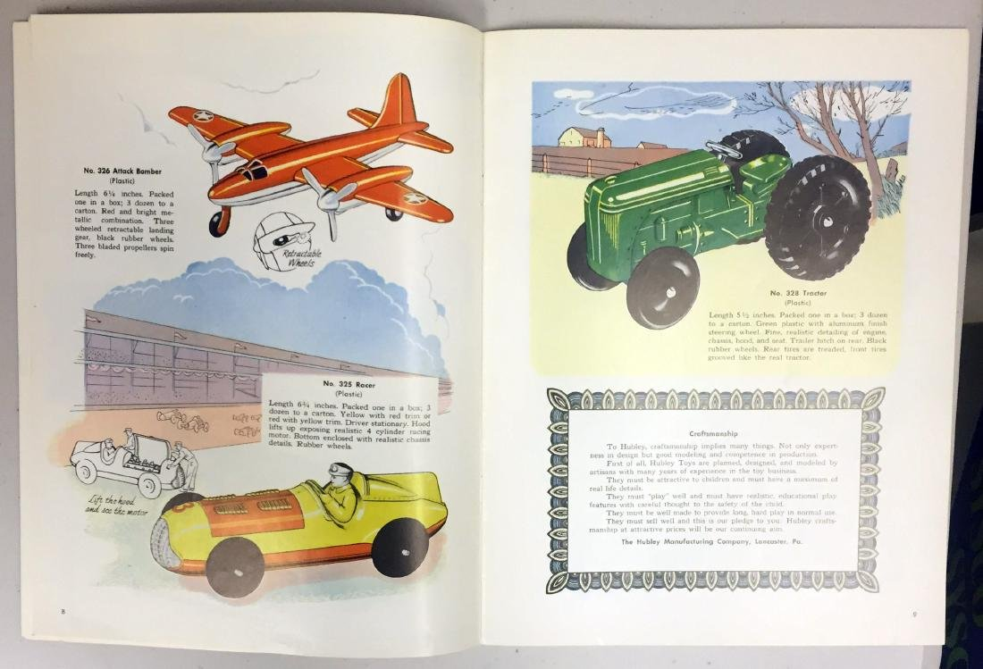 1952 HUBLEY TOY CATALOG - 4