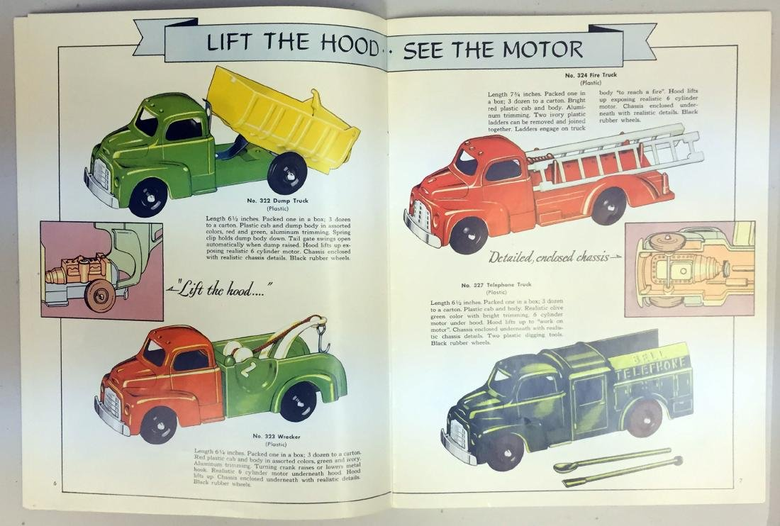 1952 HUBLEY TOY CATALOG - 5