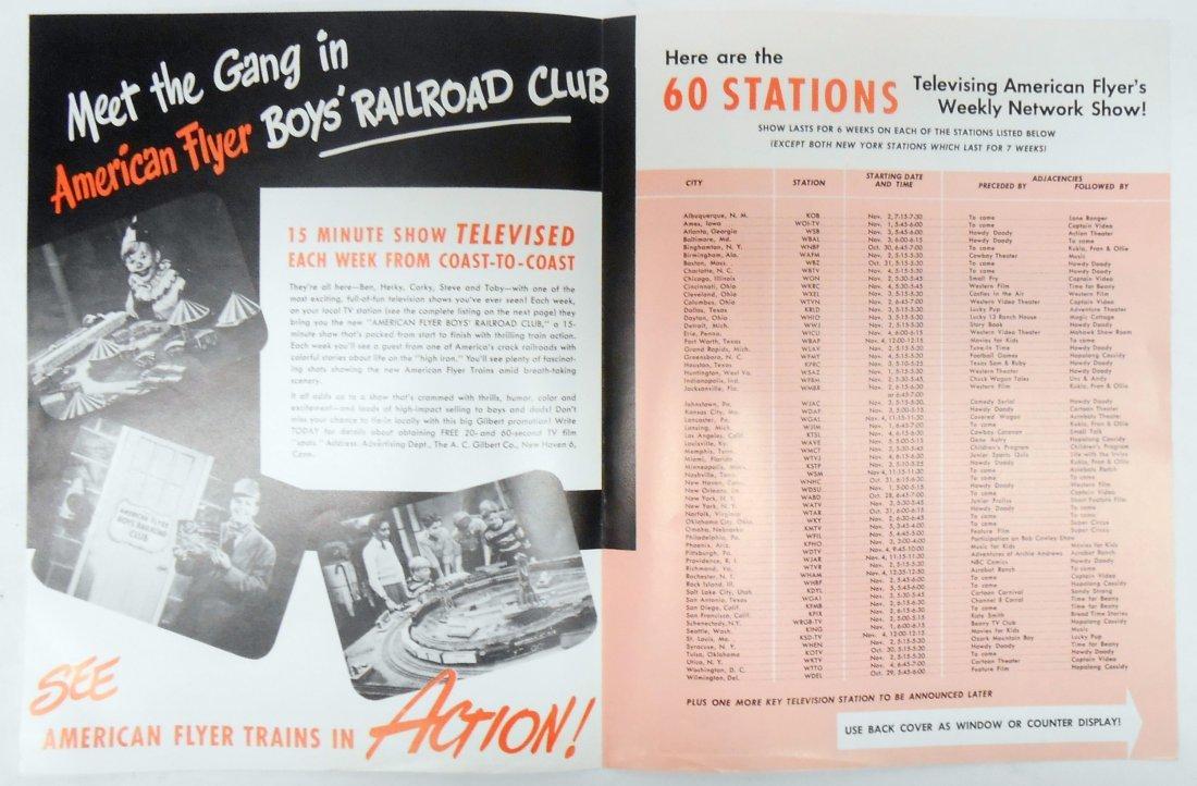 (6) GILBERT TOYS / AMERICAN FLYER TRAIN CATALOGS & - 10