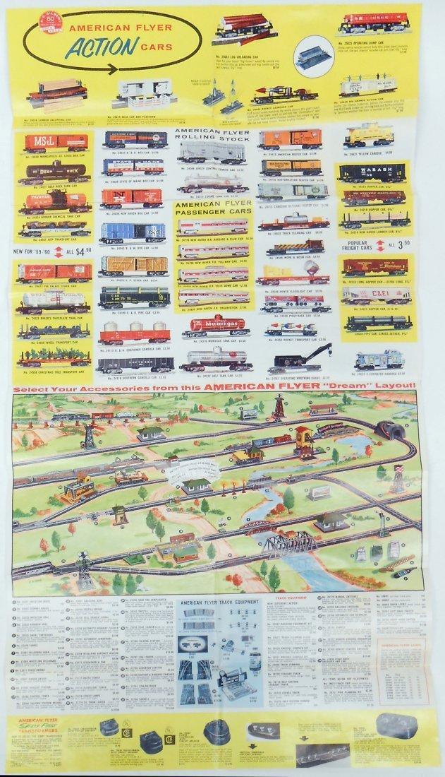 (6) GILBERT TOYS / AMERICAN FLYER TRAIN CATALOGS & - 13