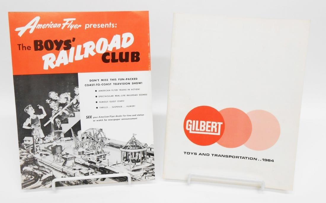 (6) GILBERT TOYS / AMERICAN FLYER TRAIN CATALOGS & - 2