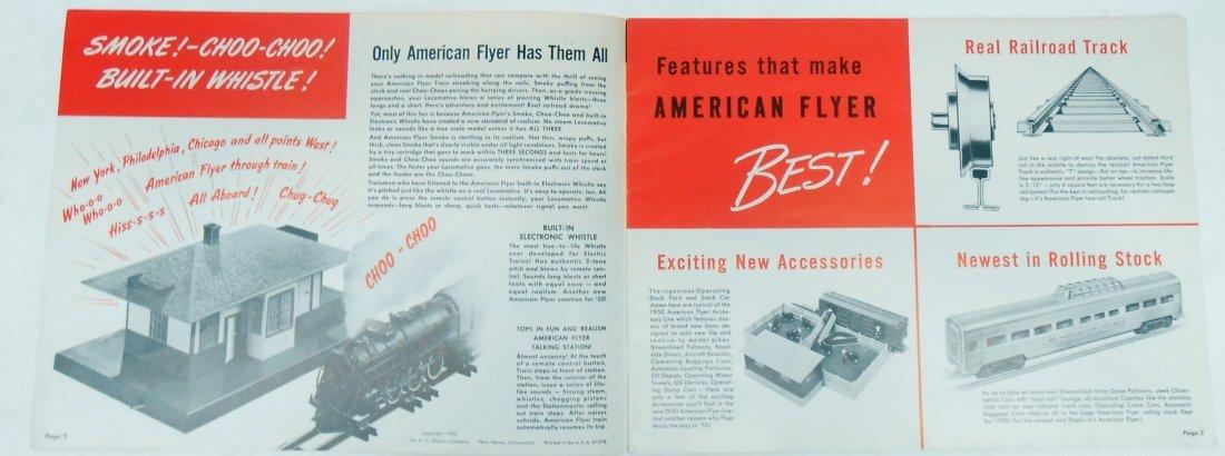 (6) GILBERT TOYS / AMERICAN FLYER TRAIN CATALOGS & - 4