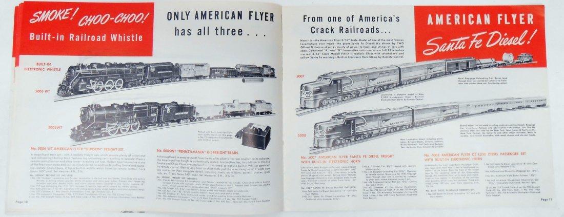 (6) GILBERT TOYS / AMERICAN FLYER TRAIN CATALOGS & - 5