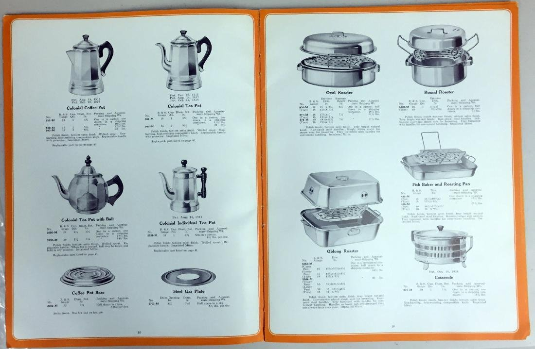 (4) STORE PRODUCT CATALOGS - 4