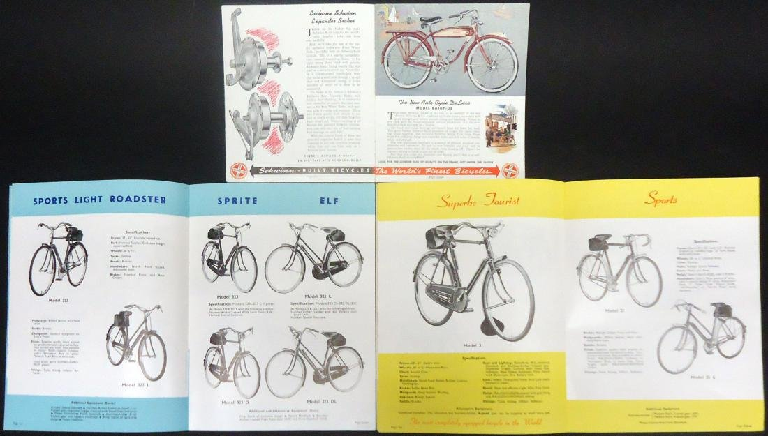 (3) BICYCLE CATALOGS - 3