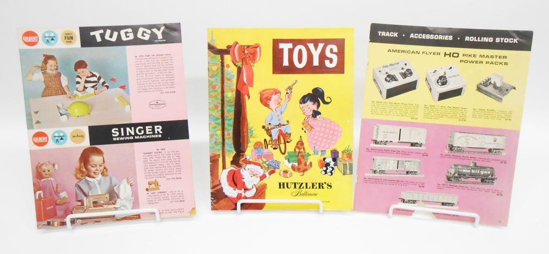 (8) TOY CATALOGS