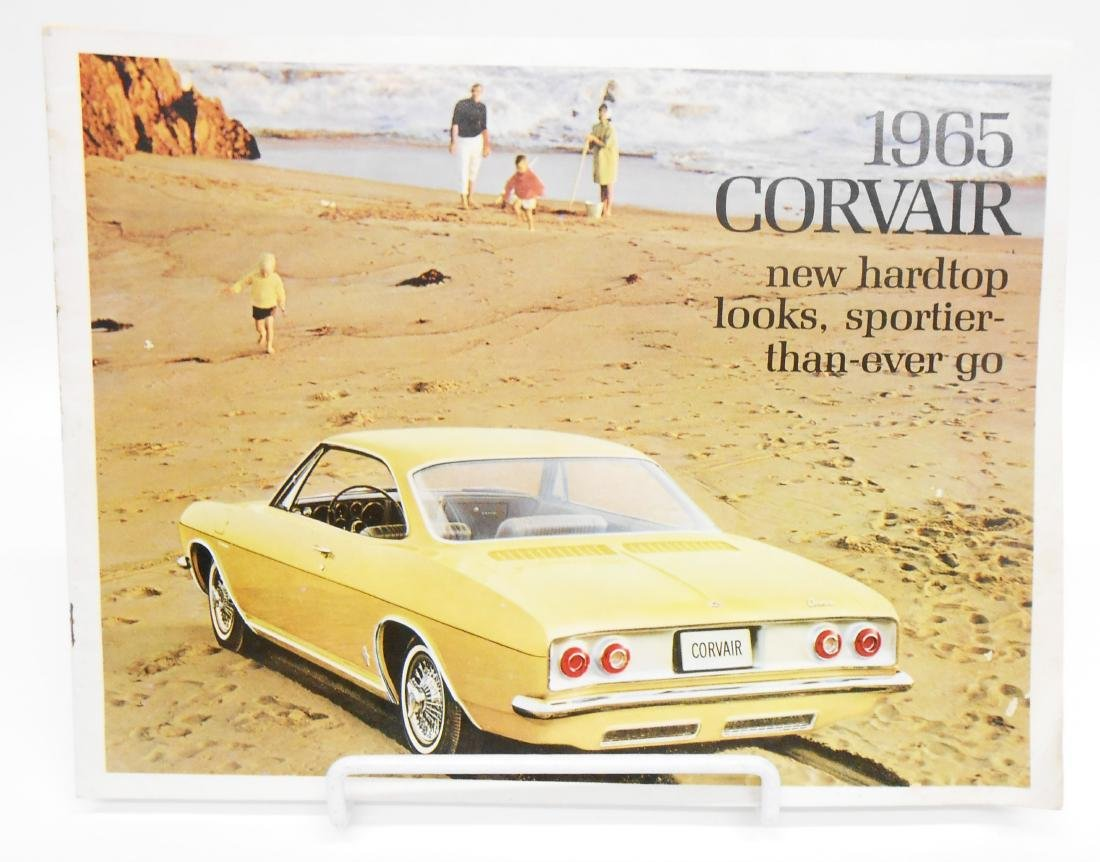 1965 CHEVROLET CORVAIR SALES BROCHURE