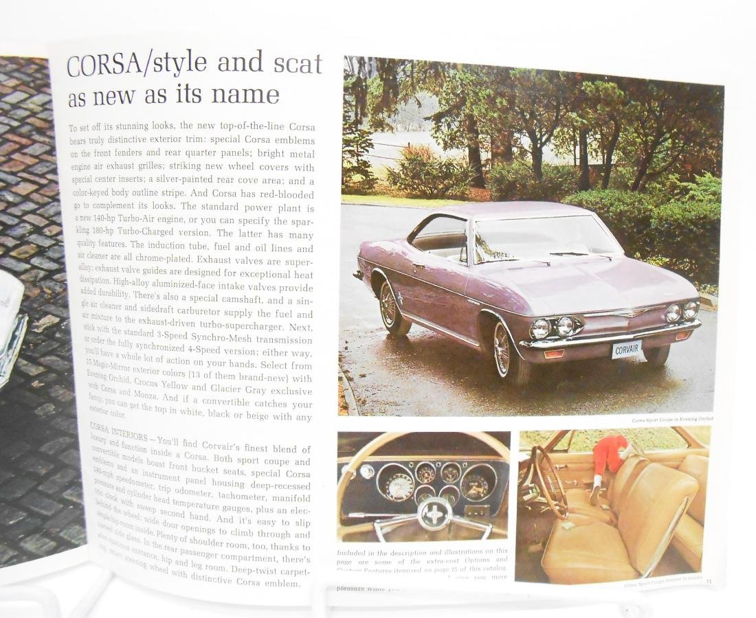 1965 CHEVROLET CORVAIR SALES BROCHURE - 2