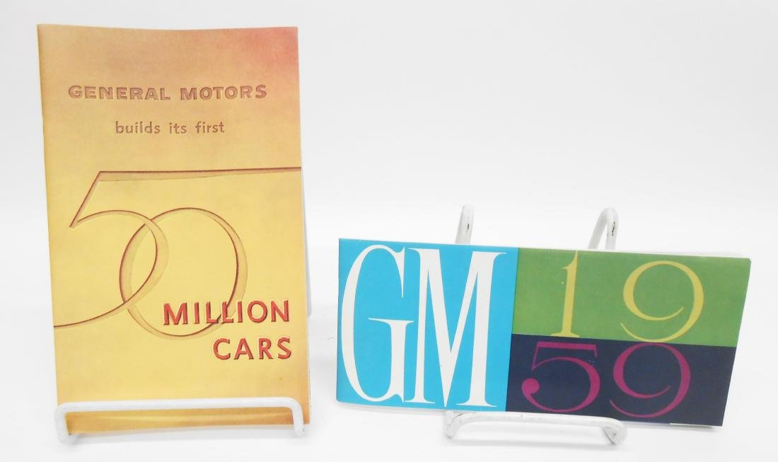 GENERAL MOTORS SALES BROCHURES (2)
