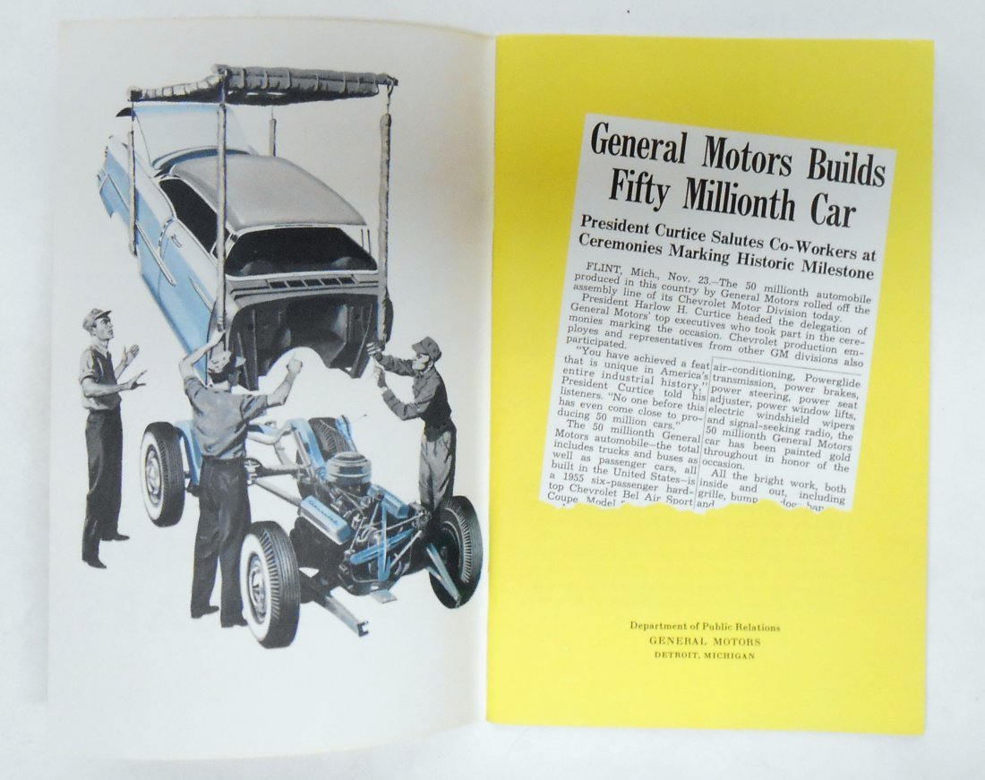GENERAL MOTORS SALES BROCHURES (2) - 2