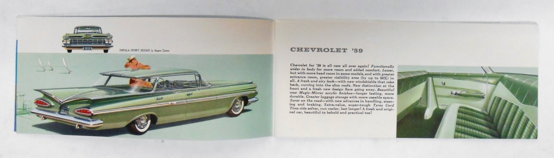 GENERAL MOTORS SALES BROCHURES (2) - 6