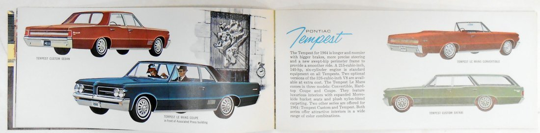 (2) 1965 GENERAL MOTORS BROCHURES - 7