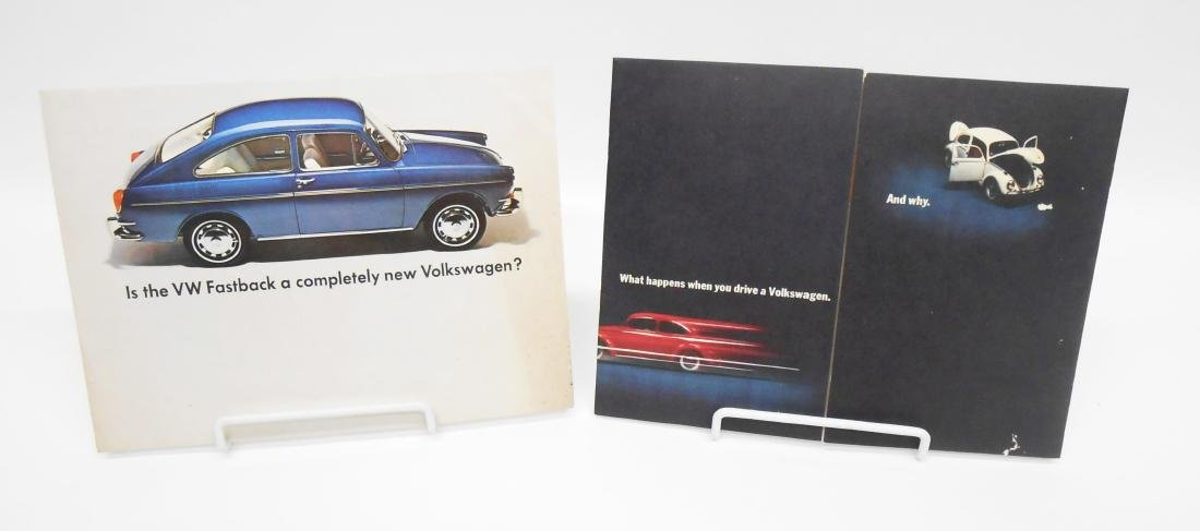 (4) 1960'S VOLKSWAGEN BROCHURES - 2
