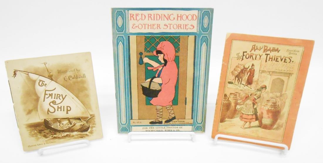 (4) LITHO PAPER CHILDREN'S BOOKLETS