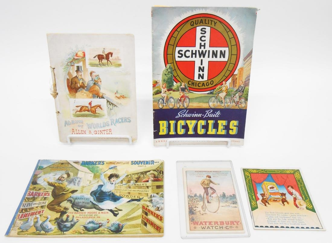PRODUCT BROCHURES, PAMPHLETS (5)