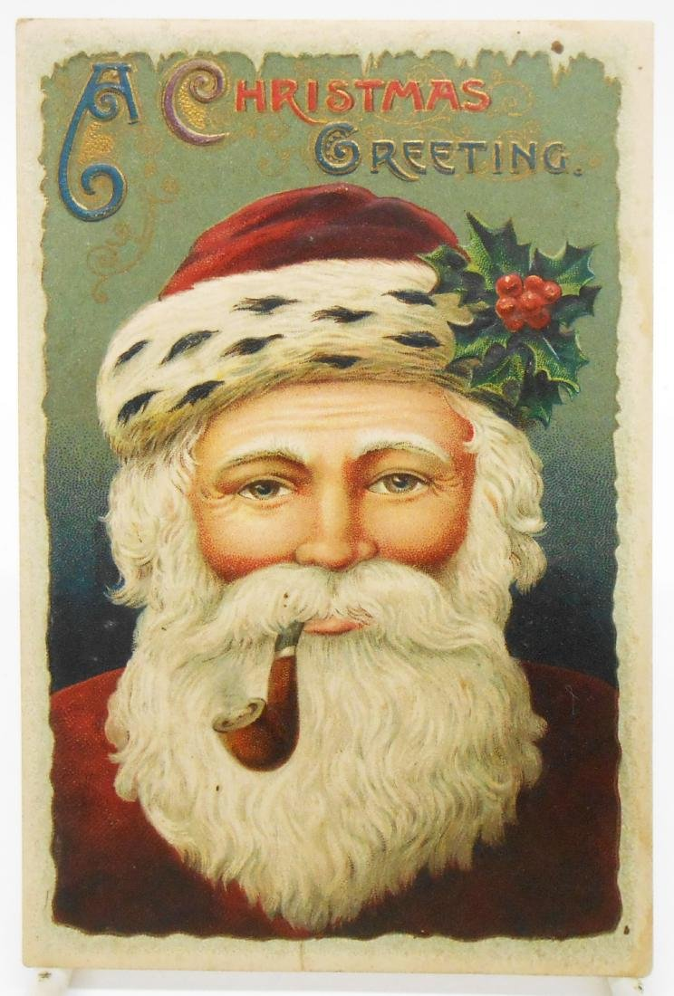 CHRISTMAS RELATED POSTCARDS/TRADE CARDS (6) - 4