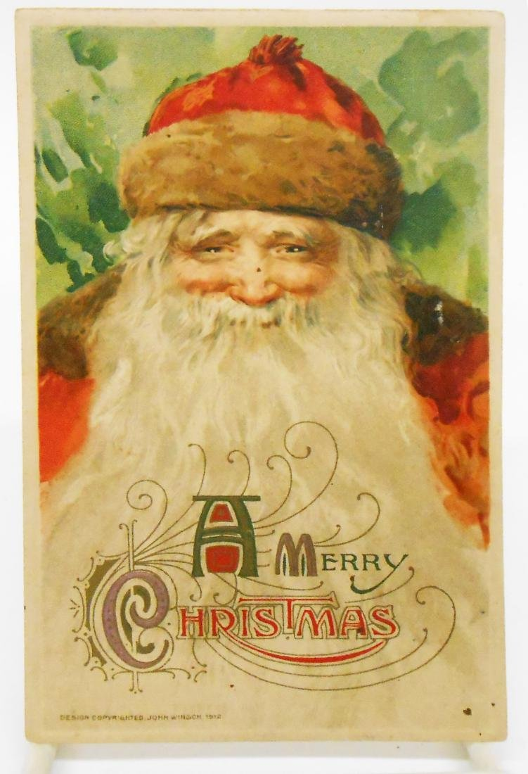 CHRISTMAS RELATED POSTCARDS/TRADE CARDS (6) - 5