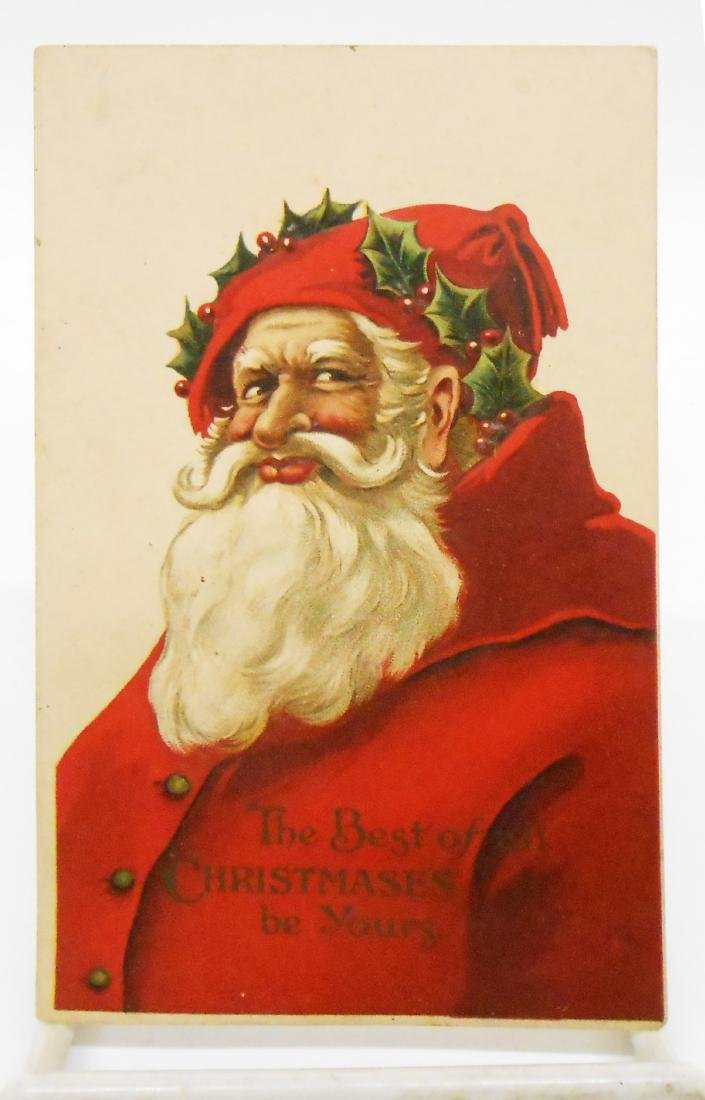 CHRISTMAS RELATED POSTCARDS/TRADE CARDS (6) - 7