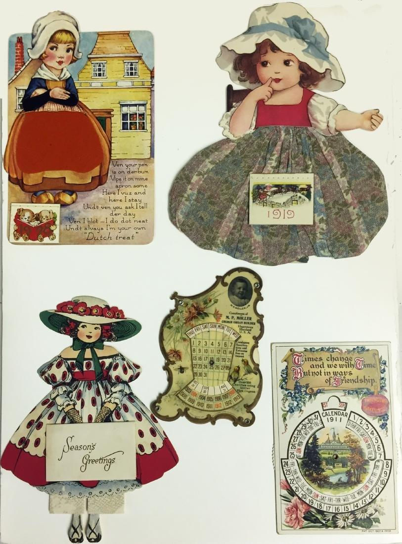 (5) GREETING CARD/POSTCARD STYLE CALENDARS