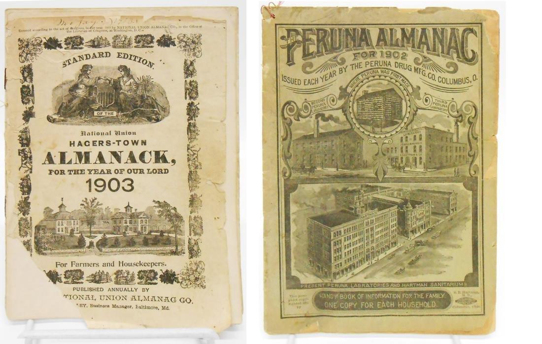 20TH CENTURY ALMANACS (11), PAPER LITHO - 10