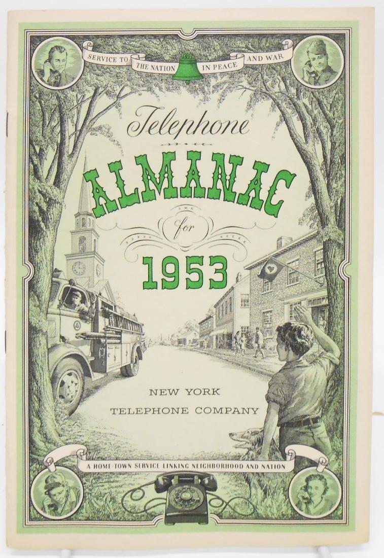20TH CENTURY ALMANACS (11), PAPER LITHO - 3