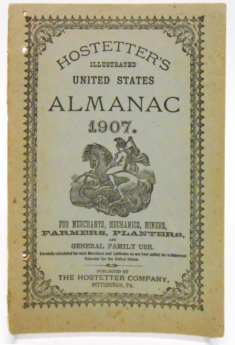 20TH CENTURY ALMANACS (11), PAPER LITHO - 8