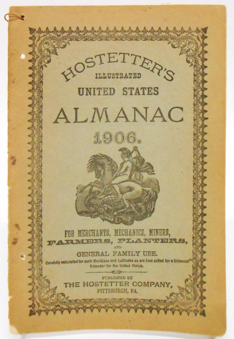 20TH CENTURY ALMANACS (11), PAPER LITHO - 9
