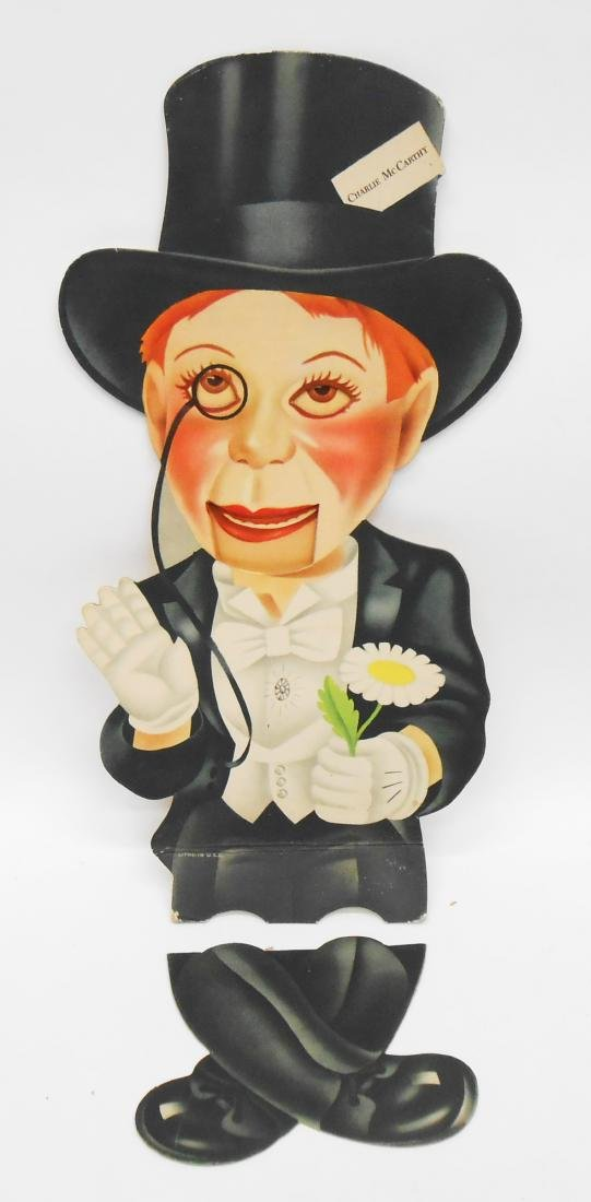 DIE-CUT ARTICULATED MORTIMER SNERD & CHARLIE McCARTHY