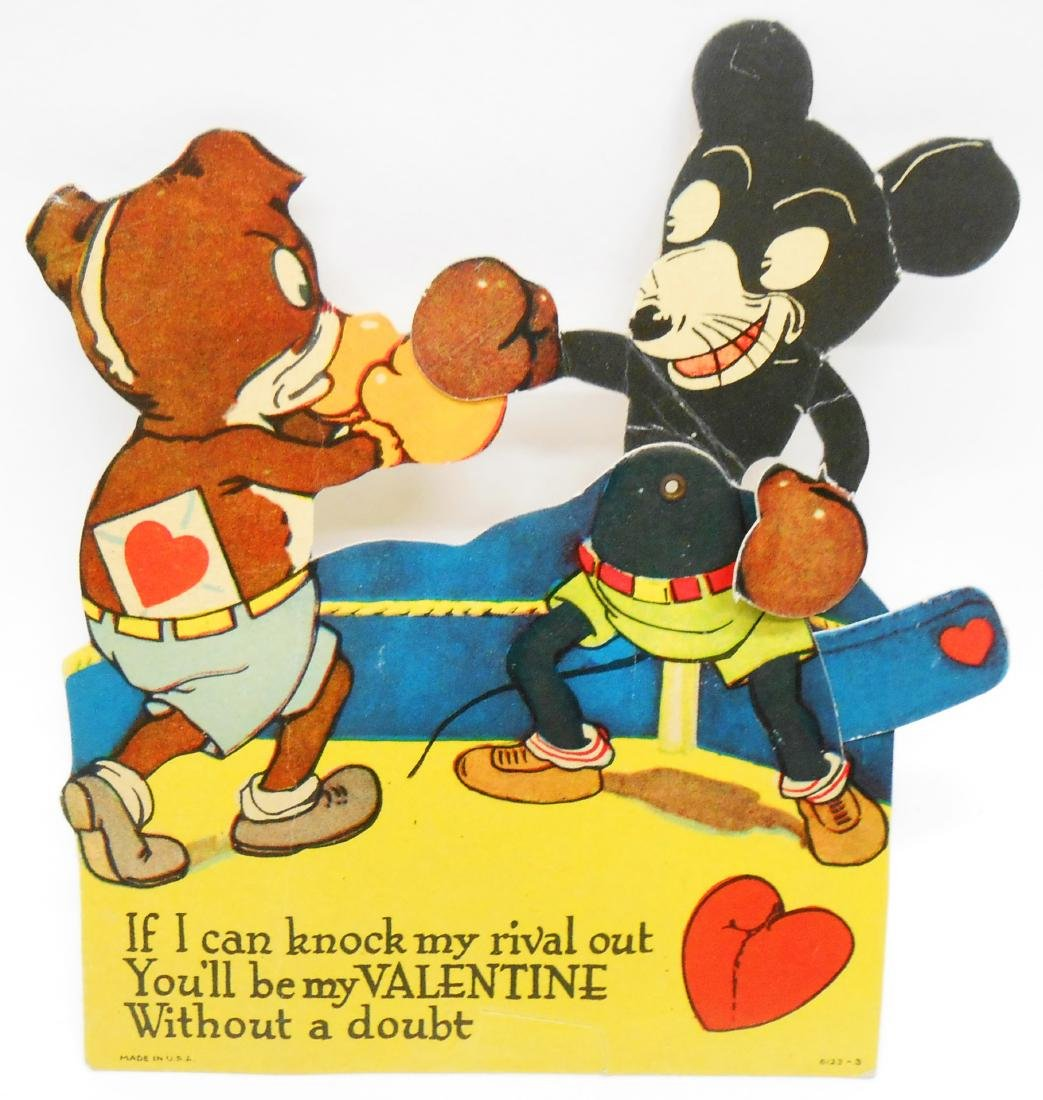 MECHANICAL / ARTICULATED VALENTINES (4)