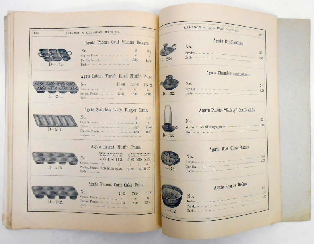 ADVERTISING AGATE IRON WARE CATALOG - 10
