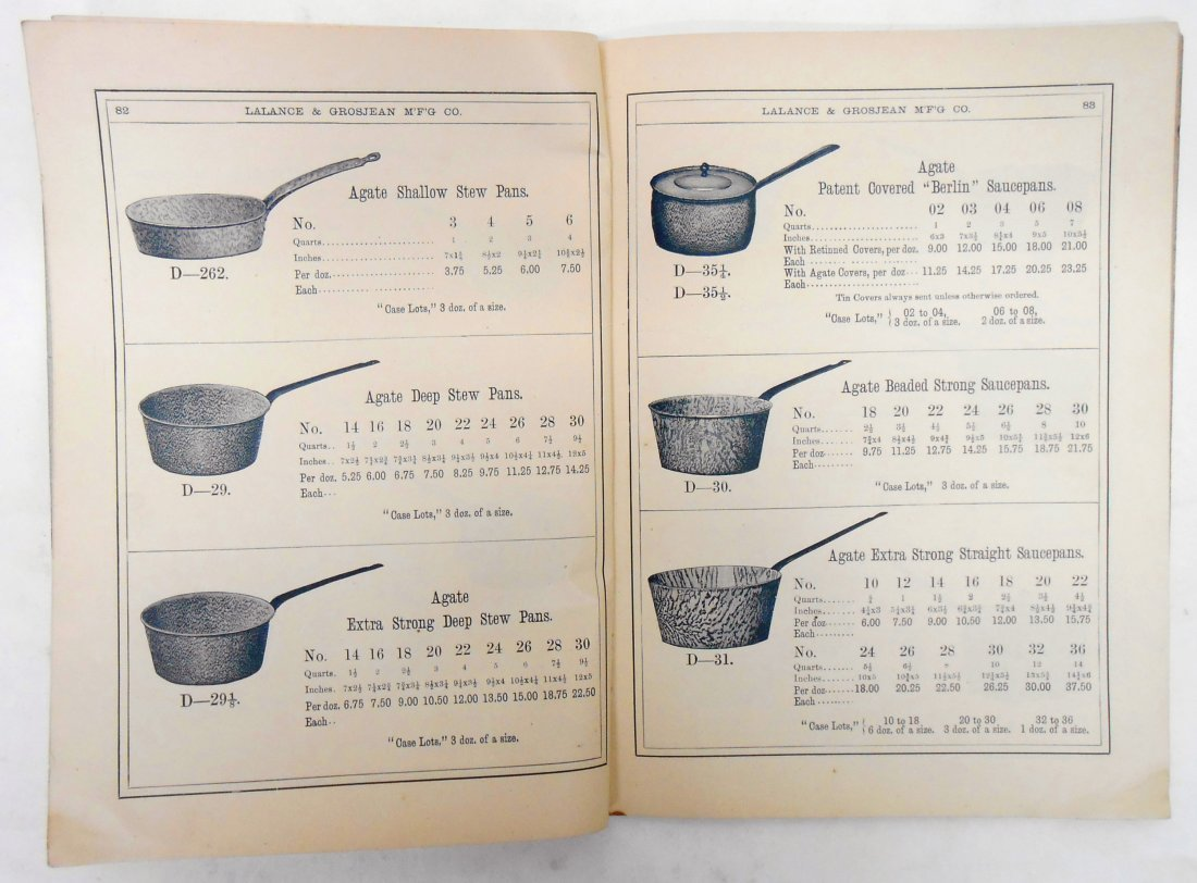 ADVERTISING AGATE IRON WARE CATALOG - 11