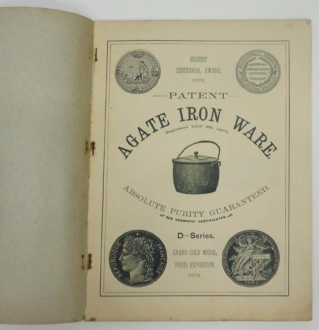 ADVERTISING AGATE IRON WARE CATALOG - 2