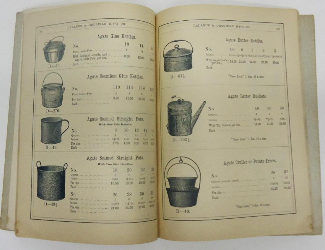 ADVERTISING AGATE IRON WARE CATALOG - 3