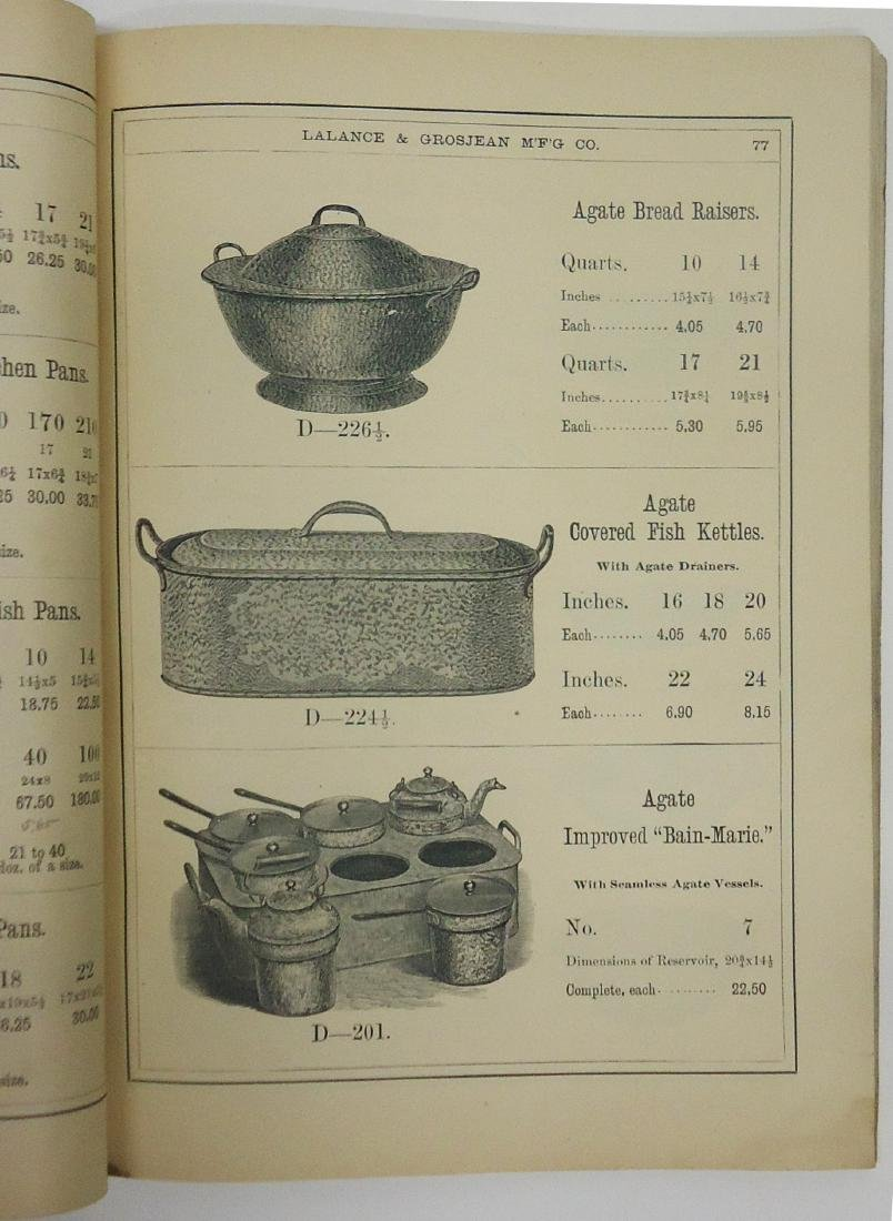 ADVERTISING AGATE IRON WARE CATALOG - 4
