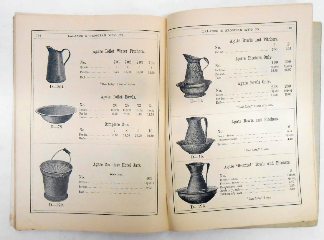 ADVERTISING AGATE IRON WARE CATALOG - 5
