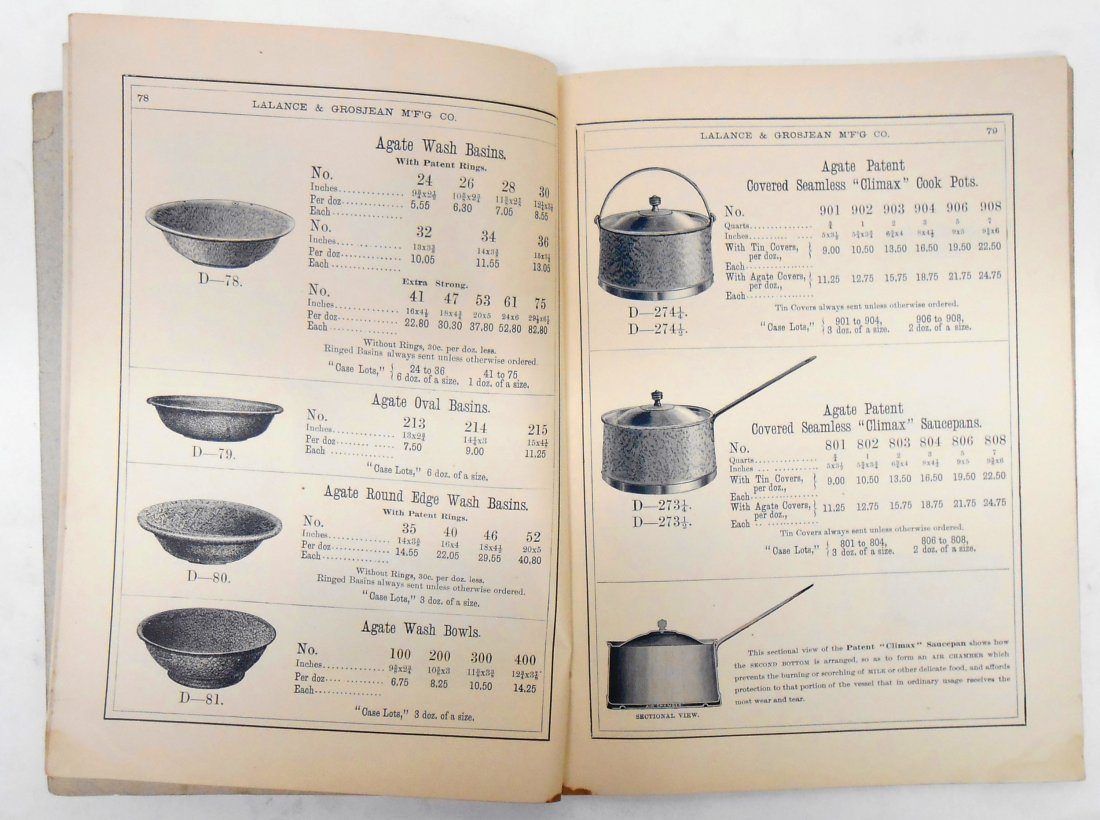 ADVERTISING AGATE IRON WARE CATALOG - 6