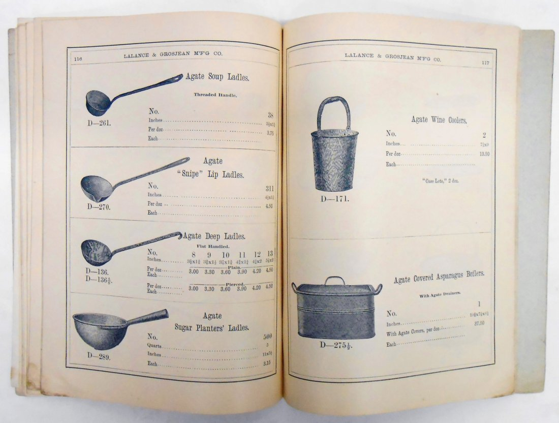 ADVERTISING AGATE IRON WARE CATALOG - 9