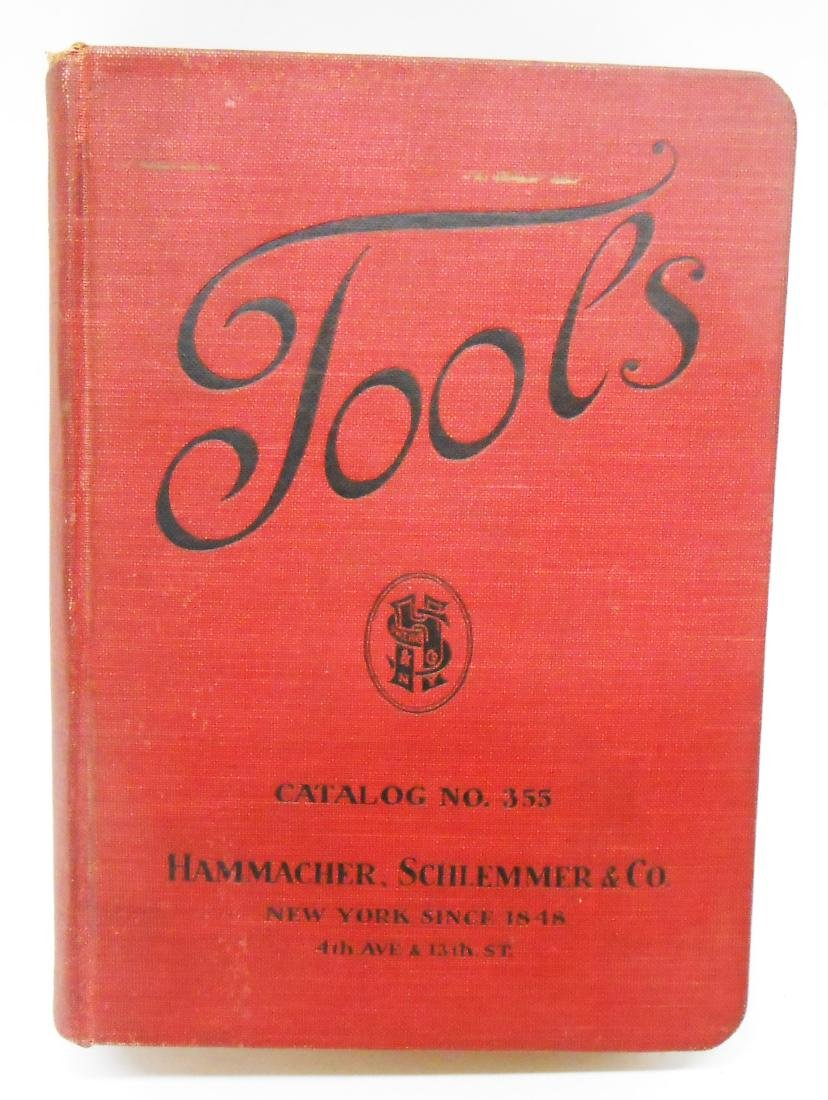 ADVERTISING HAMMACHER SCHLEMMER & CO TOOL CATALOG