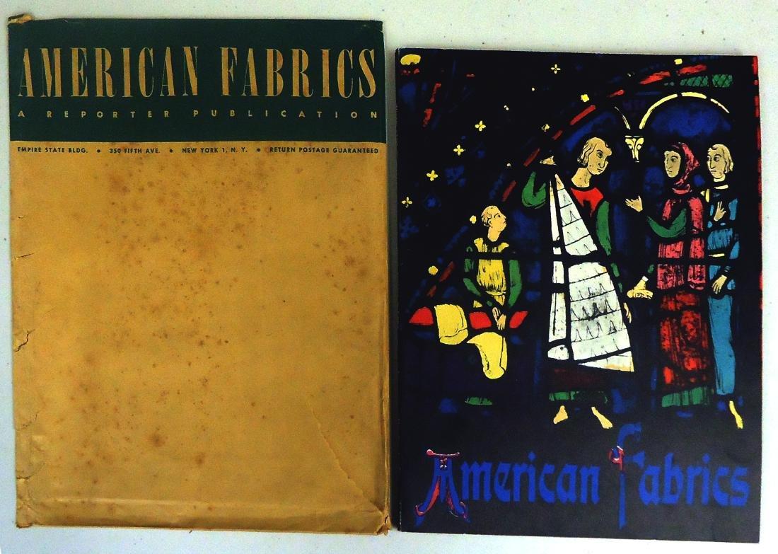 ADVERTISING AMERICAN FABRICS CATALOG