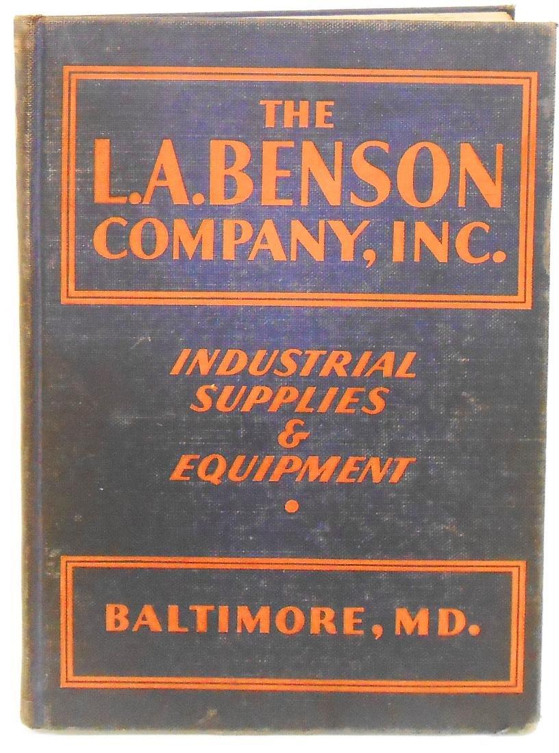 BALTIMORE L. A. BENSON CO. INC., CATALOG D