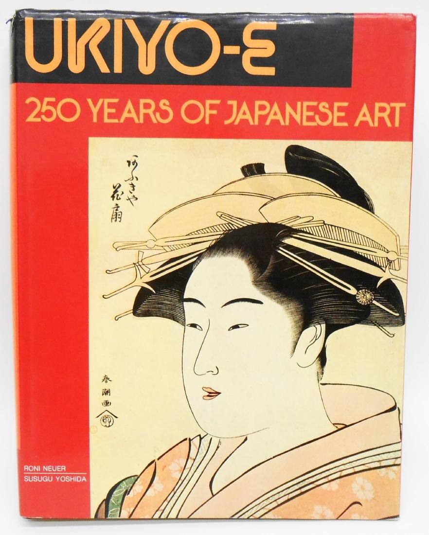 (3) JAPANESE ART BOOKS