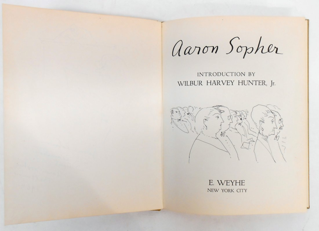 AARON SOPHER BOOK - 3